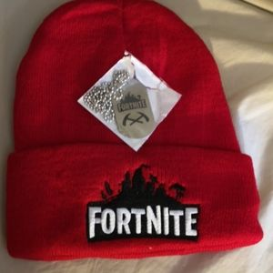 Other - Brand New Fortnite Touque and Necklace
